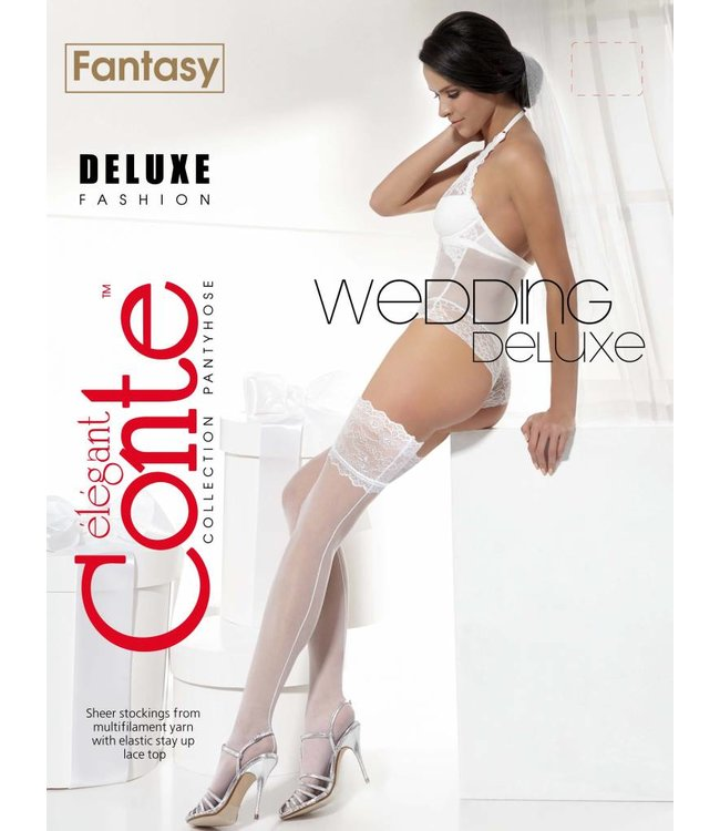 Conte Deluxe 20 den bridal stockings