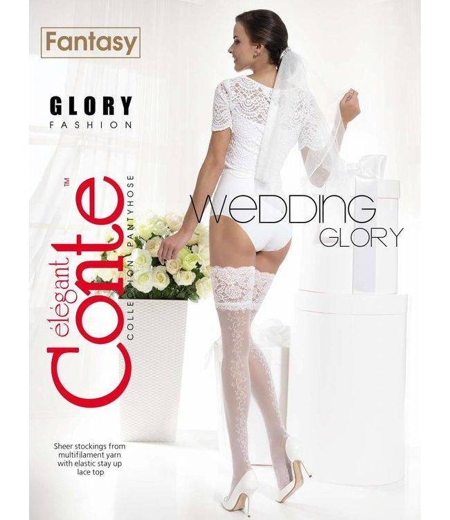 Conte Glory 20 den bridal stockings