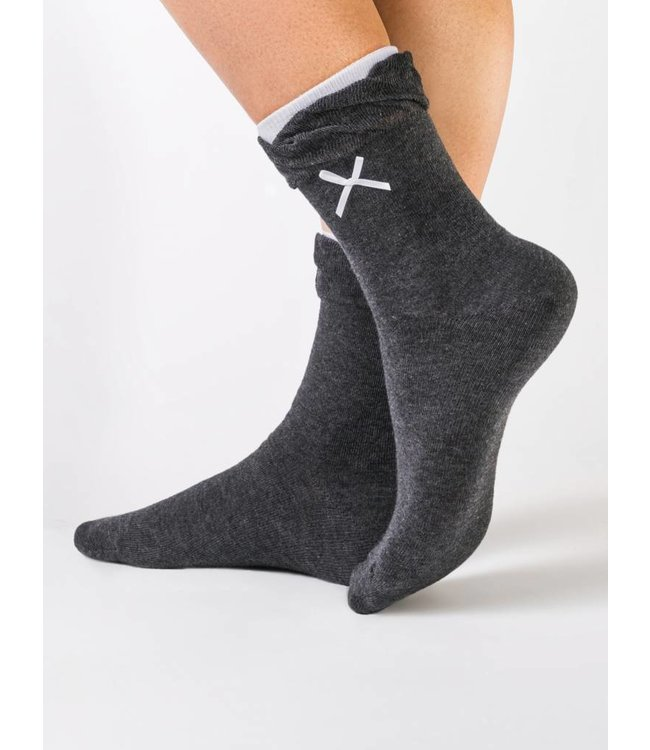Conte Comfort ladies' socks with lace bows