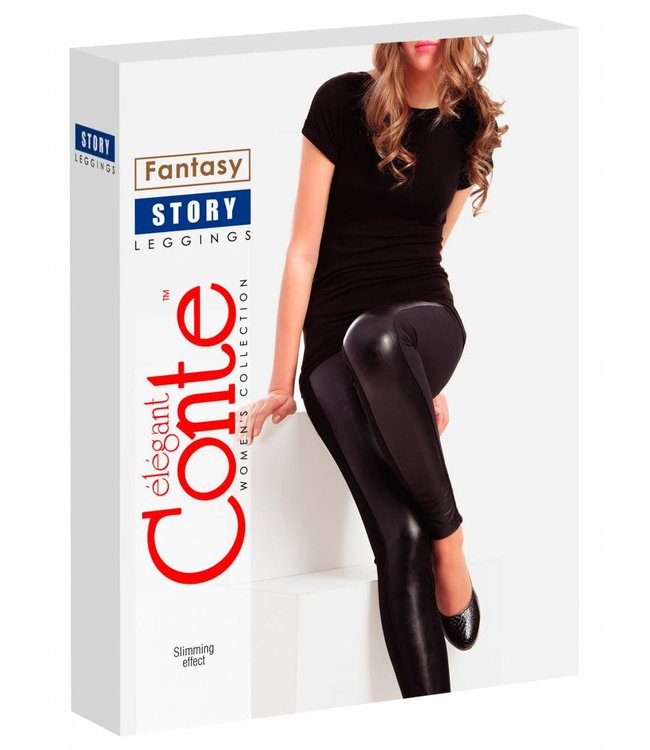 Conte Story leatherlook leggings
