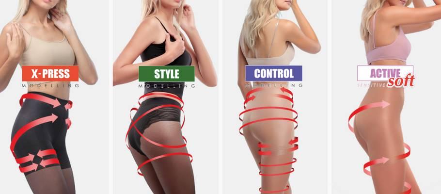 Hoe kiest u de juiste corrigerende panty?