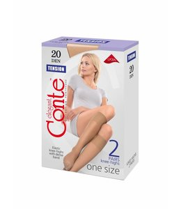 Conte Tension 20 knee-highs (2-pack)