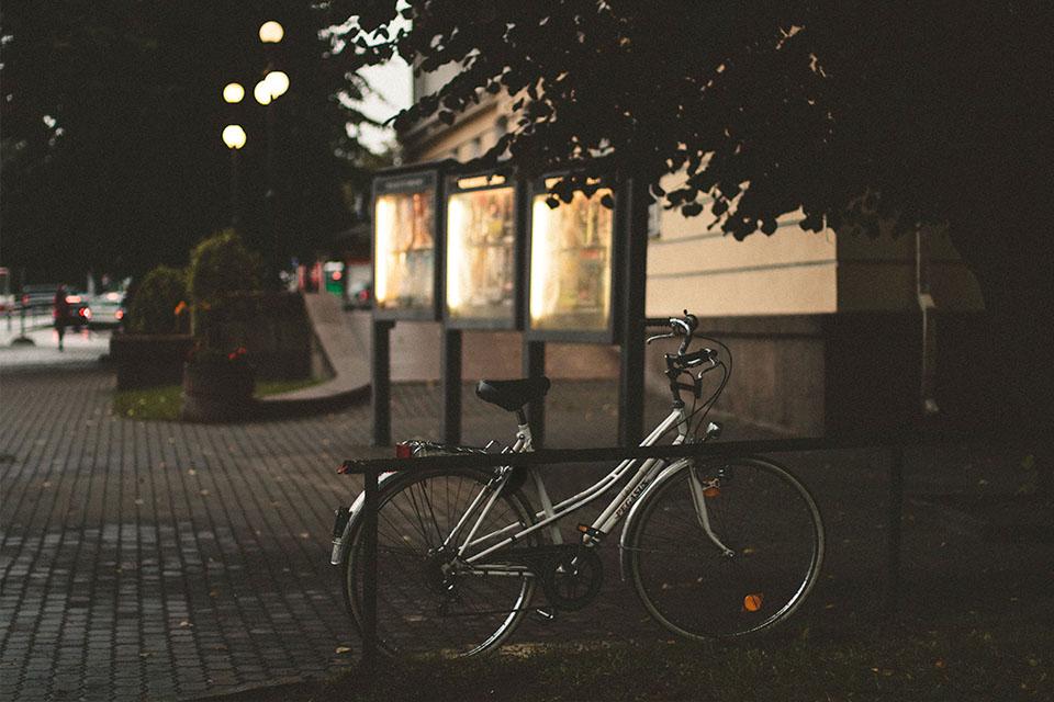 GPS Fahrrad Abgestellt