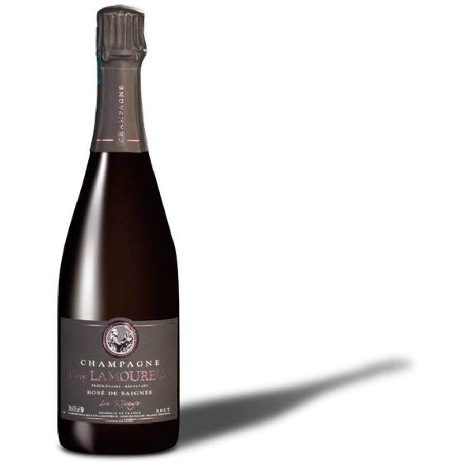 Champagne Guy Lamoureux Rosé de Saignée 75cl