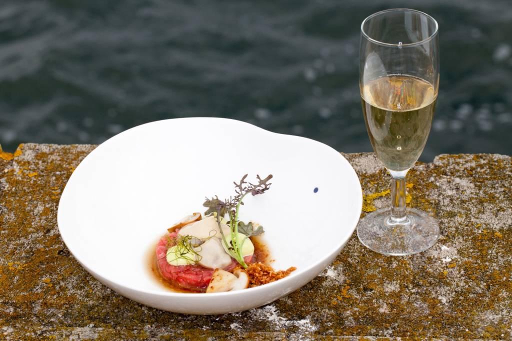 Welke champagne schenk je bij mooie gerechten?