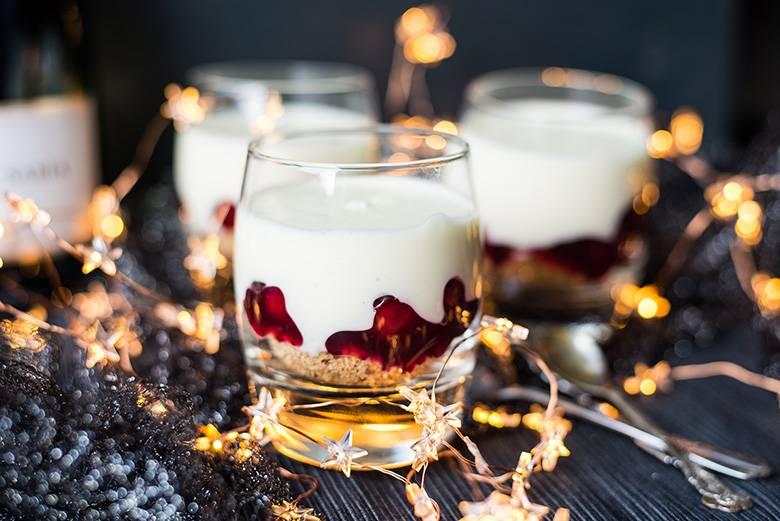 Heerlijk dessert: Champagnecheesecake