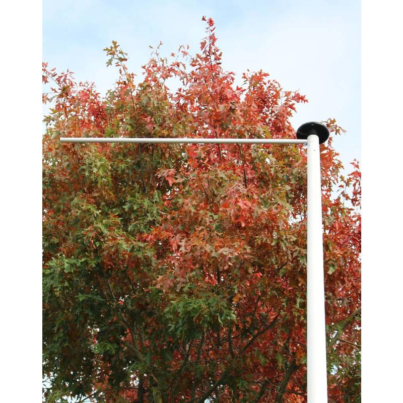 Polyester reclamemast met banierhouder, 9 meter
