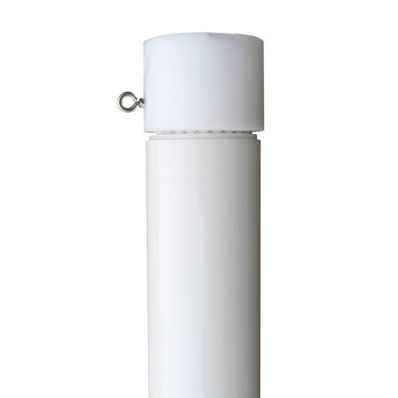 Professionele aluminium reclamemast met banierhouder