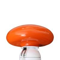 Plat oranje, roterend