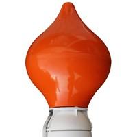 Tulpvormig, oranje, roterend