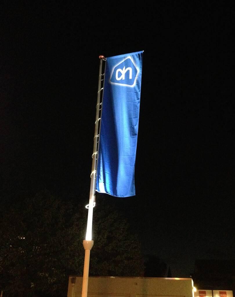 Vlaggenmast LED verlichting - Vlaggenmast shop
