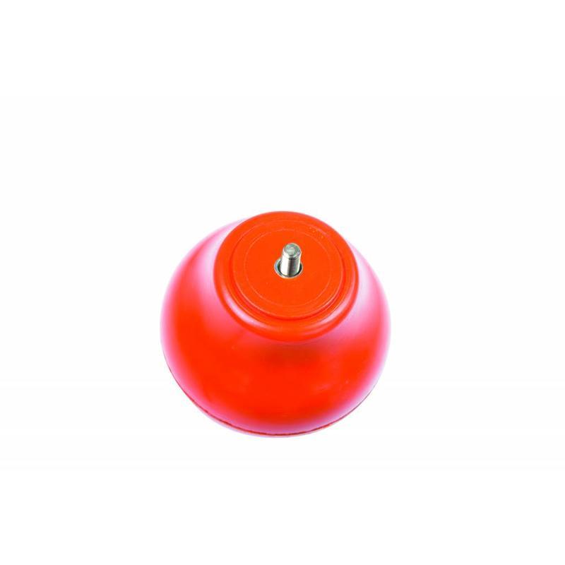 Tulpvormige mastknop, kunststof, oranje M8