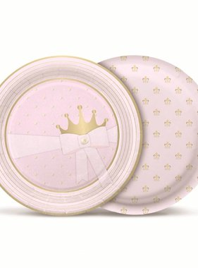 Jollyjoy PRINCESS KINGDOM ROUND PLATES
