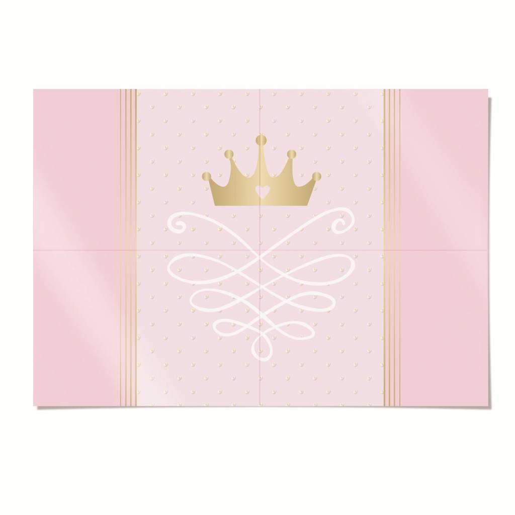 Jollyjoy PRINCESS KINGDOM 4-PIECE POSTER