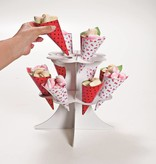 Jollyjoy WHITE MINI CONE STAND