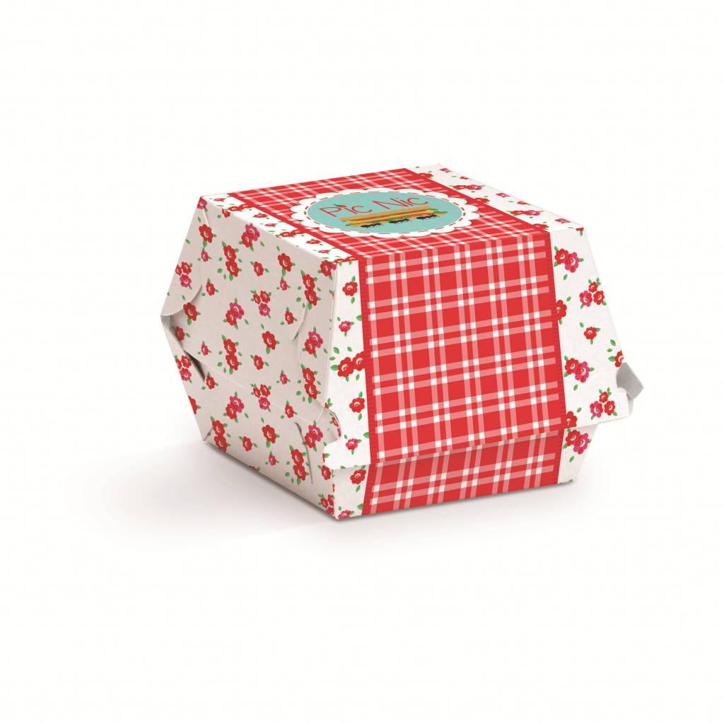 Jollyjoy PICNIC MINI HAMBURGER BOX