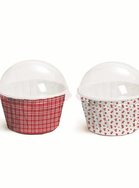 Jollyjoy PICNIC CUPCAKE TIN KIT WITH LIDS