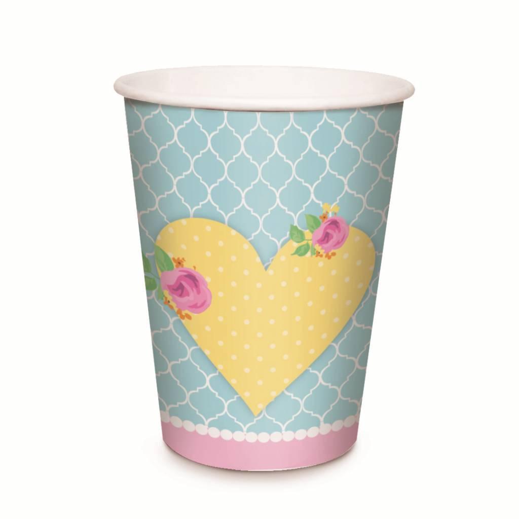 Jollyjoy GIRLS TEA PAPER CUPS