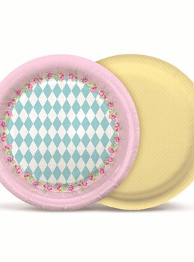 Jollyjoy GIRLS TEA ROUND PLATES