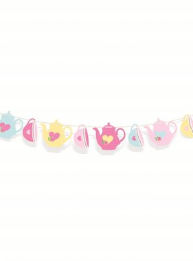 Jollyjoy GIRLS TEA DECORATIVE BANNER