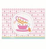 Jollyjoy GIRLS TEA 4-PIECE POSTER