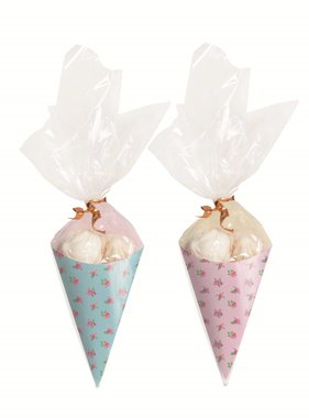 Jollyjoy GIRLS TEA MINI PARTY CONES KIT