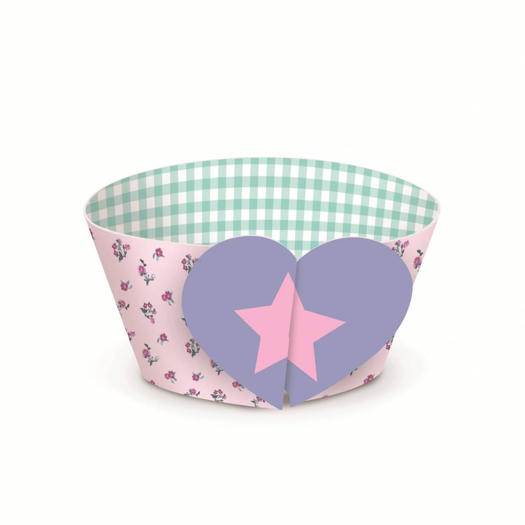 Jollyjoy DREAM PARTY CUPCAKE WRAPS & PICKS