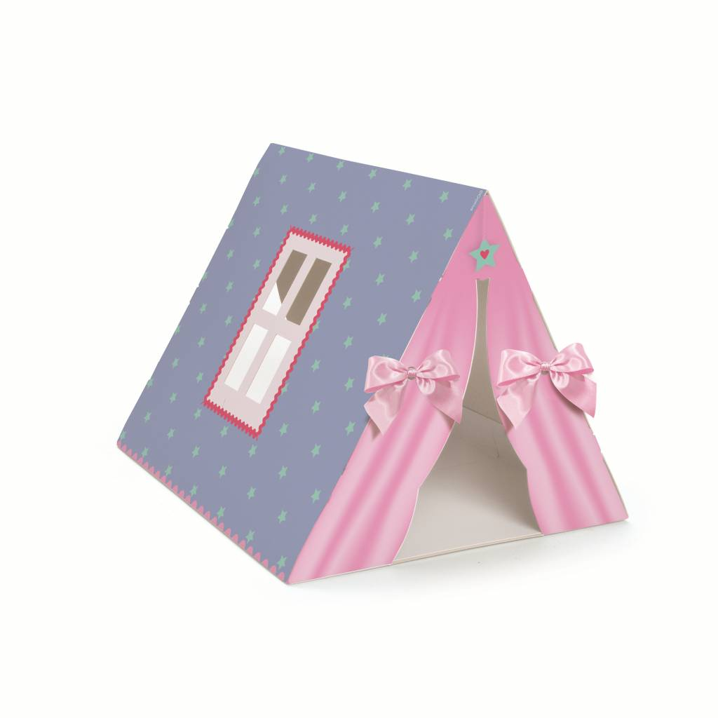 Jollyjoy DREAM PARTY DECORATED TENT BOX