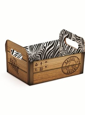 Jollyjoy SAFARI WALL CARDBOARD BOX