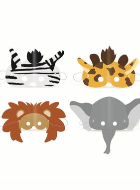 Jollyjoy SET MASKERS SAFARI