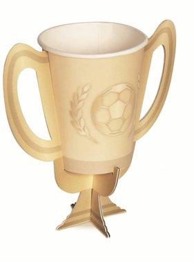 Jollyjoy FOOTBALL TROPHY PAPER CUPS