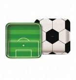 Jollyjoy FOOTBALL SQUARE PLATE