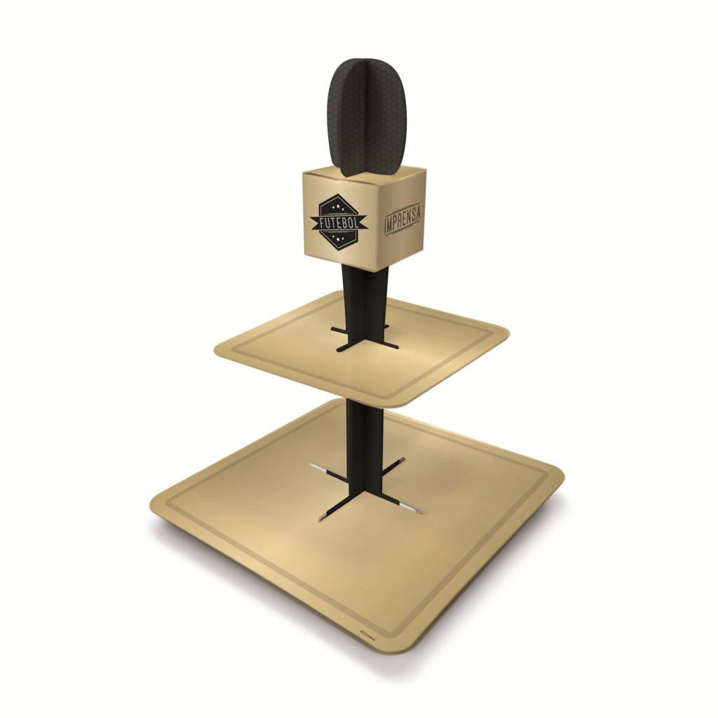 Jollyjoy FOOTBALL SPECIAL MICROPHONE SWEET STAND 2T