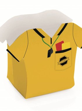 Jollyjoy FOOTBALL REFEREE SHIRT BASKET BOX