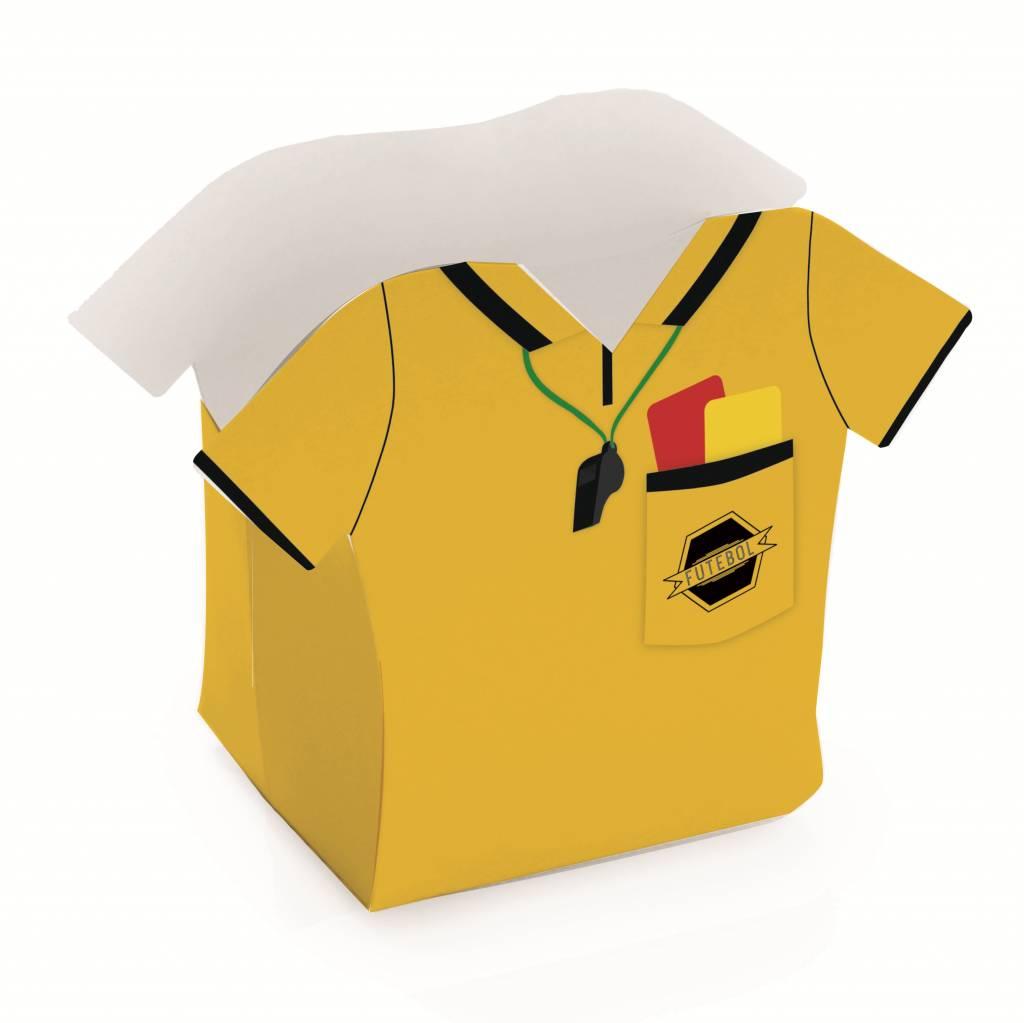 Jollyjoy FOOTBALL REFEREE SHIRT BASKET BOX