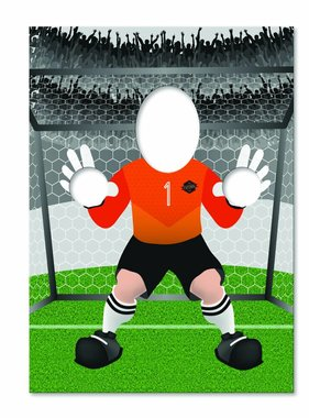 Jollyjoy FOOTBALL GOALKEEPER PHOTO BOARD