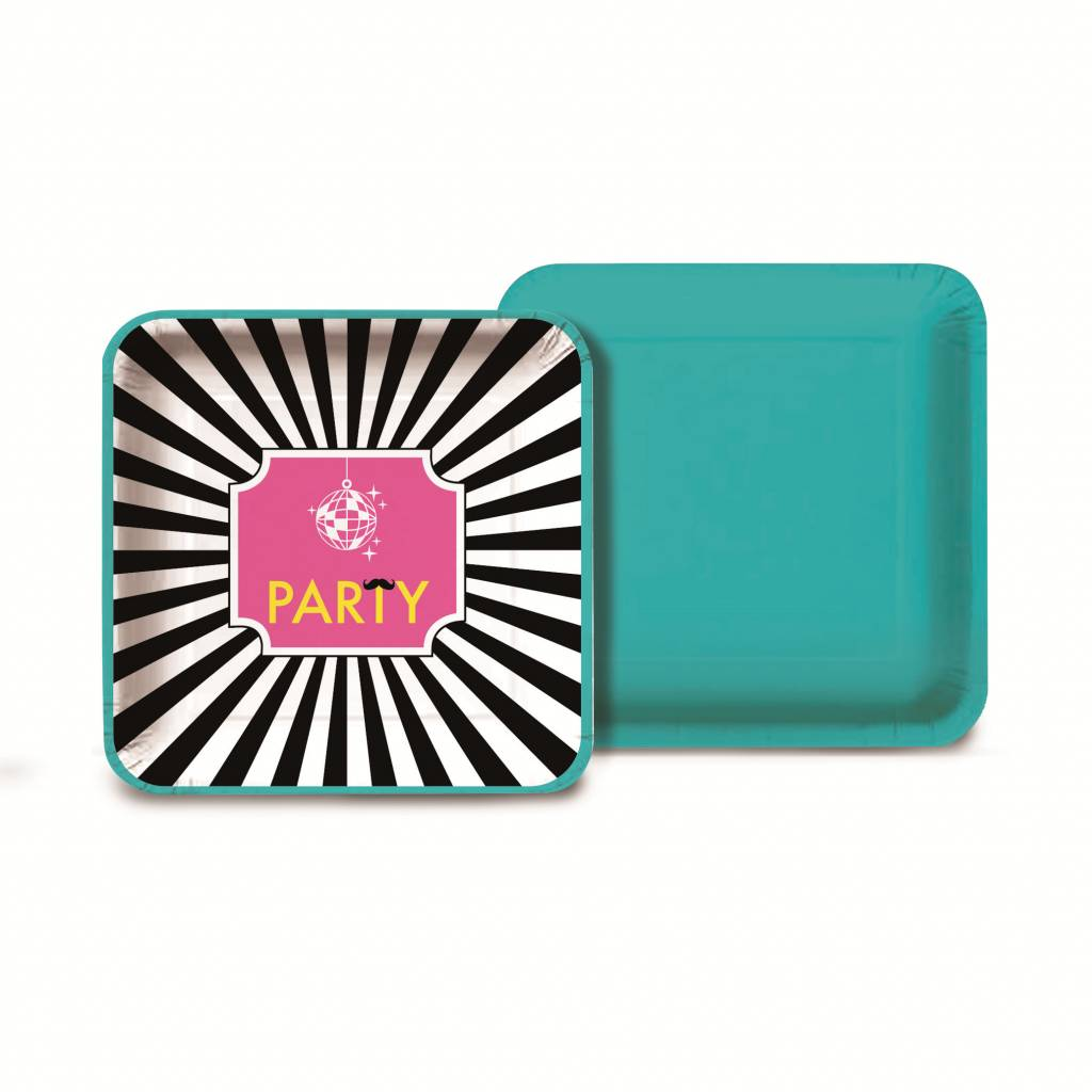Jollyjoy KEEP CALM SQUARE PLATE