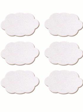 Jollyjoy MINI STICKER WHITE CLOWD CHALKBOARDS