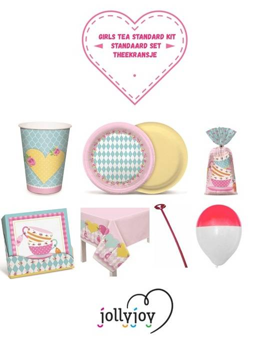 Jollyjoy GIRLS TEA STANDARD KIT