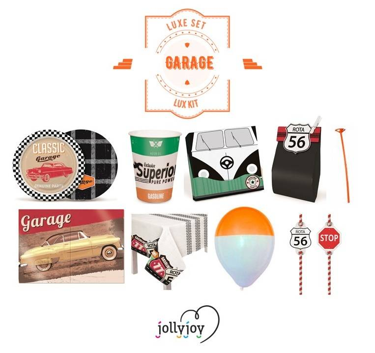 Jollyjoy LUXE SET GARAGE