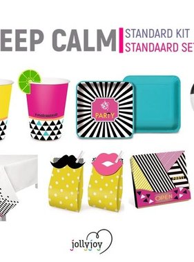 Jollyjoy STANDAARD SET KEEP CALM