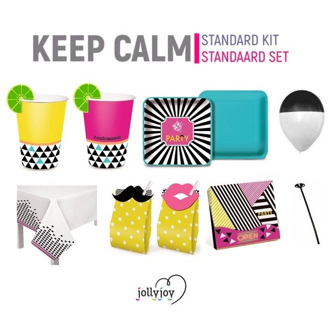 Jollyjoy KIT BASICO KEEP CALM