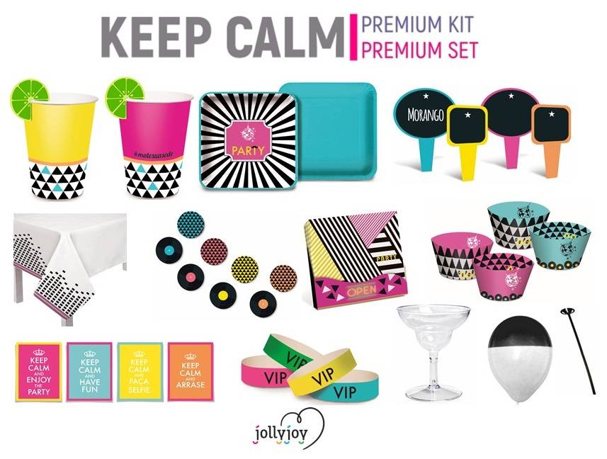Jollyjoy PREMIUM SET KEEP CALM