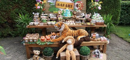 Safari - Henks 3e verjaardag & de bedrijfsopening van JollyJoy