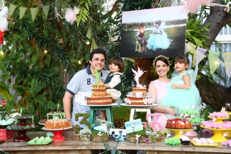 Pic Nic com Peter Pan & Sininho – Biel & Babi 3 Anos