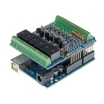 Input/output board shield voor Arduino