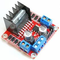 L298N H-brug driver voor DC of stappen motor