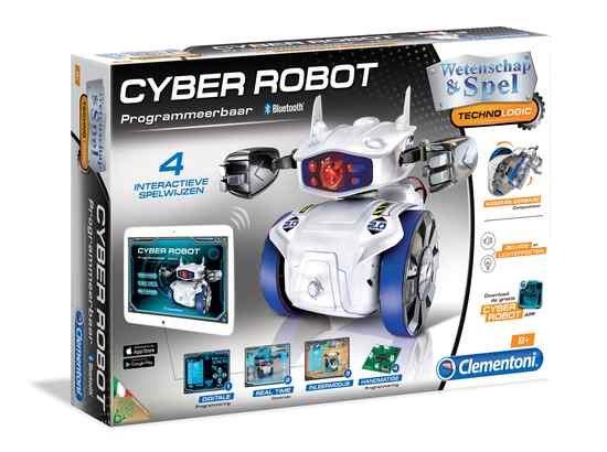 Bouwset Cyber robot met bluetooth - DeBouwdoos.be