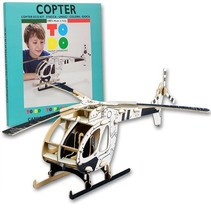 Kartonnen Helikopter