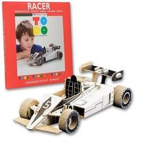Kartonnen Racewagen